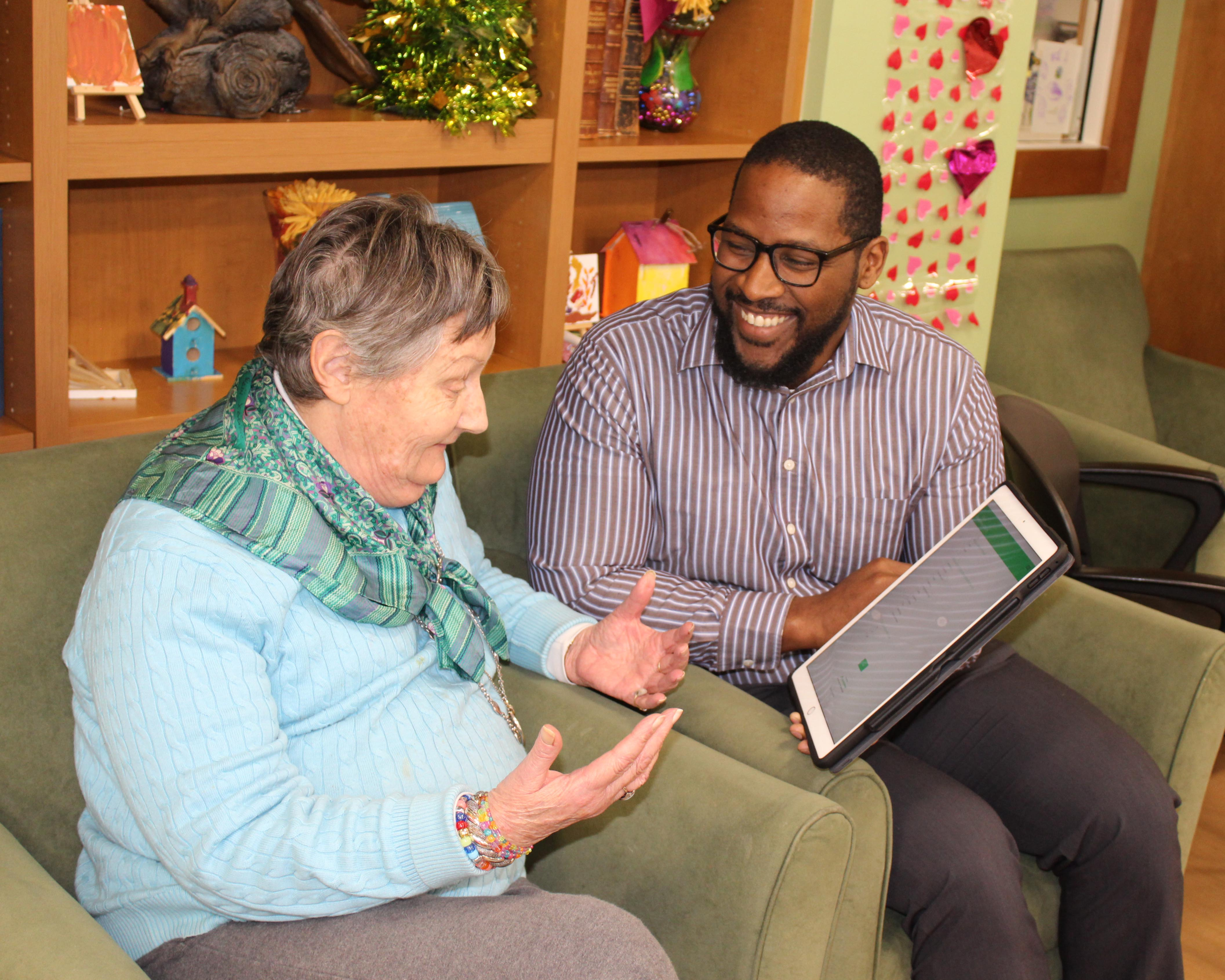 Comcast Assistive Tech - Ms. Penny from Adult Day Services
